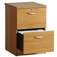 Buy cheap Vertical Two Drawer Cherry Wood File Cabinet , Lockable Filing Cabinets DX-K016 from wholesalers