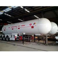 Buy cheap Storage Oxygen Nitrogen LPG Tank Trailer Safety Operation For Refill Dispense Station from wholesalers
