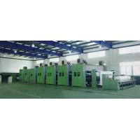 China Double Needle Geotextile Production Line / Leather Fabric Production Line 130-950kg / H Capacity on sale