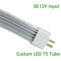 Customed LED T5 12W L849mm*∮16mm DC12V 72pcs SMD2835 Aluminum+PC Cover   (GT5-0912AN-02) Manufactures