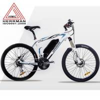 Buy cheap Carbon Fiber Frame Off Road Electric Mountain Bikes With 48V 10.4Ah Lithium Battery from wholesalers