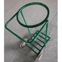 Buy cheap Strong Frame Wheel Trash Bag Carts Three Wheel Ganvalnized Surface Treatment from wholesalers