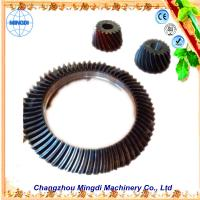 Buy cheap Changzhou Mingdi Customized OD 1.5m Hopoid Spiral Bevel Gear / Helical Bevel Gear Set from wholesalers