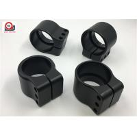 Buy cheap High Precision Furniture Hardware Parts , Black Machining Small Metal Parts from wholesalers