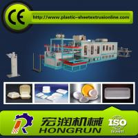 Buy cheap Full Automatic Plastic Foam Disposable Plate Making Machinery For Fast Food Container from wholesalers
