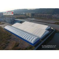 1000sqm Large PVC Industrial Outdoor Warehouse Tent Structures Steel Frame Manufactures