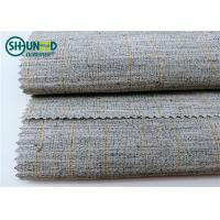 Wholesale Polyester Mixed Horsehair Interlining Canvas Hair Lining For Men Uniform Suits from china suppliers