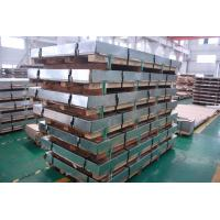 Buy cheap 5MM DIN EN 304 Stainless Steel Sheets 4x8 , Customized Rolling Steel Kick Plate SGS from wholesalers