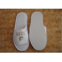 Custom Hospital / Home / Hotel Textile Spunbond Non Woven Fabric Disposable Slippers Manufactures