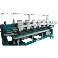 Commercial Cap / T-shirt Embroidery Machine , 6 Heads 9 Needles Manufactures