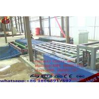 China Decorative Magnesium Oxide Board Production Line Capacity 2000 Sheets / Shift on sale