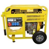 Buy cheap 5kVA Three Phase Portable Diesel Generator (TDG7000E) from wholesalers