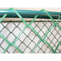 Buy cheap 2.87MM Galvanised Black Chain Link Fencing,Wire Mesh Fence 50 x 50mm Hole from wholesalers