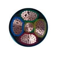 Buy cheap 4+1 Core N2XY Unarmoured  XLPE Copper Cable Polypropylene Filler CE IEC VDE product