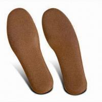 Buy cheap Cork Shoe Insoles Made from Natural Cork, for Athletic and Casual Shoes and Boots from wholesalers