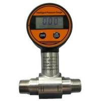 Buy cheap 9VDC high accuracy Intelligent Differential Pressure Gauges 4-digit LCD display from wholesalers