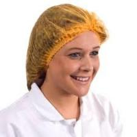Buy cheap Single Or Double Elastic Disposable Nurse Cap For Clean Room / Laboratory / Restaurant from wholesalers