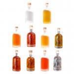 Buy cheap Transparent frosted Beverage Juice Wine bottle Whisky Vodka Spirit Liquor Glass Bottle from wholesalers