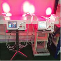 Buy cheap Vertical Cold Laser Lipo Machine / Laser Weight Loss Machine Higher Safe Standard from wholesalers
