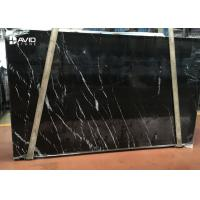 Wholesale selected popular black marble nero marquina marble slab 20mm thick from china suppliers
