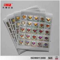 Buy cheap Attractive Logo Printed  Custom 3D Hologram Sticker from wholesalers