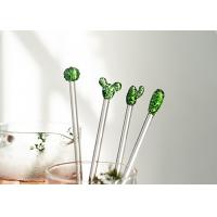 Buy cheap Straight Glass Drinking Straws Borosilicate Glass Customized Service from wholesalers