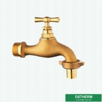 Buy cheap Original Brass Color Garden Tap Brass Bibcock Valve Water Tap For Washing Machines from wholesalers