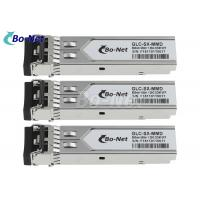 Buy cheap GLC-SX-MMD SFP Fiber Optical Module Multi Mode 1.25G SFP 850nm 550m Distance from wholesalers