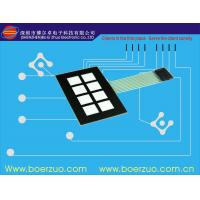 Buy cheap Glossy Window LED Backlit Membrane Switch FPC / PCB / silicone rubber For Equipment from wholesalers