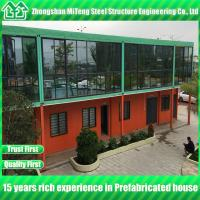 Buy cheap Prefab container house Luxury house container office with  Glass wall from wholesalers
