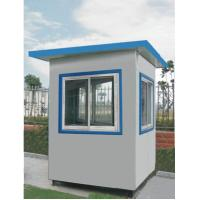 Buy cheap Light Prefabricated Steel Houses with Rock Wool Sandwich Panel from wholesalers