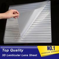 Buy cheap lenticular lens 160 lpi 3d film material-pet 3d film lenticular printing sheet for offset press machine Tunisia from wholesalers