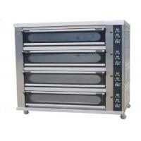 Buy cheap 4 Deck 8 Trays Commercial Baking Oven Digital Display Ceramic Heating Deck Oven for Bread from wholesalers