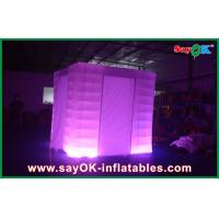 Buy cheap Square 210D Polyester Cloth Vintage Photo Booth With Led Lighting from wholesalers