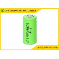Buy cheap OEM / ODM 2/3AA 1.2 V 600mah Battery , Nickel Metal Hydride Rechargeable Battery from wholesalers