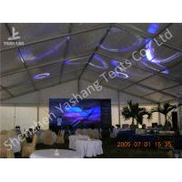 Buy cheap 20x35M Large Canopy Tent With Sidewalls , Outdoor Party Marquee Soft Pvc Fabric Cover from wholesalers
