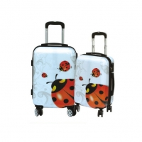 Wholesale Customized Color 210d Lining Printed Hardside Luggage from china suppliers