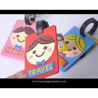 Buy cheap wholesale good quality custom promotional soft pvc cartoon luggage tag from wholesalers