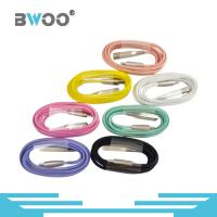 Buy cheap Bwoo Colorful Hot Sale USB Charging Cable with Zinc-alloy Head and Lightning & Micro Connector Available from wholesalers