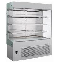 Buy cheap Fan Cooling Bakery Glass Showcase 4ft , Open Showcase Chiller 1200*700*1900mm from wholesalers
