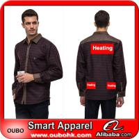 Buy cheap Mens Shirts With High-Tech Electric Heating System Battery Heated Clothing Warm OUBOHK from wholesalers