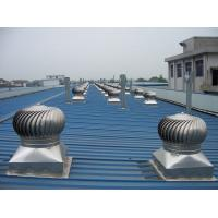 600mm wind driven roof turbo ventilator for workshop stainless steel Manufactures