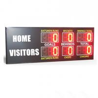 Buy cheap Traditional Aussie Rules AFL Electronic Scoreboard  900MM X 2650MM X 100MM from wholesalers