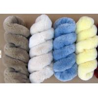 Wholesale Lambskin Long Wool Sheepskin Steering Wheel Cover For Car Interior Accessories from china suppliers