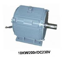 China 200 Rpm Permanent Magnet Generator 10KW 200RPM AC380V Off - Grid Or On - Grid Power Typee on sale