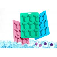 Buy cheap Dog Shaped Silicone Ice Cube Molds and Tray Multi-function environmental protection, green and pollution-free from wholesalers