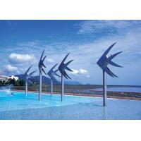 Sea Fish Commercial Water Features , Swimming Pool Water Features Stainless Steel
