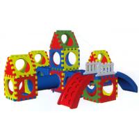 Buy cheap Commercial Plastic Playground Slide Equipments , Children Playground from wholesalers