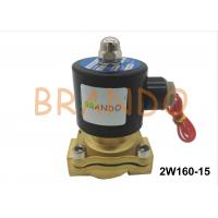 Buy cheap DN15 Internal Thread Port 2W160-15 Pneumatic Water Diaphragm Valve For Wastewater Treatment from wholesalers
