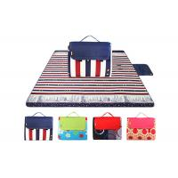 Buy cheap Fleece Large Family Waterproof Picnic Mat , 150 * 200cm Thick Padded Mat from wholesalers
